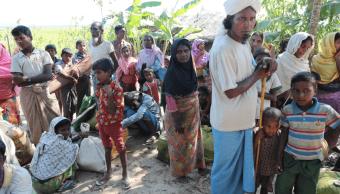 Refugiados rohinyás en Bangladesh. (Reuters, archivo)