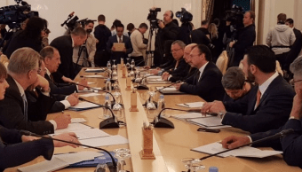 Reunión de Serguéi Lavrov con Luis Videgaray
