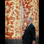 Rex Tillerson durante su visita a China.