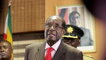 Remueven a Mugabe de la dirigencia del partido gobernante en Zimbabue