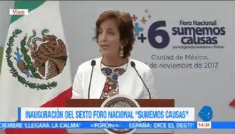 Roberta Jacobson Eu Ayuda México Capacitar Policías
