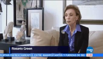 Muere Rosario Green Primera Canciller México Sábado