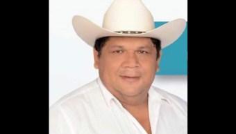 ejecutan alcalde electo hidalgotitlan santana cruz baena