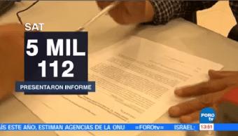Sat Presenta Informe Donatarias Apoyan Afectados Sismo