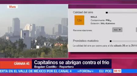 Registra Mala Calidad Aire Valle México