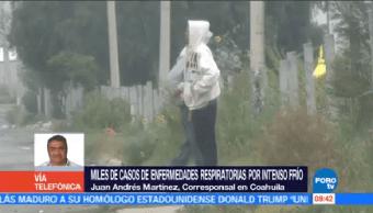 Registran Miles Casos Enfermedades Respiratorias Coahuila