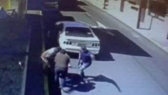 Captan momento del secuestro de un empresario en Orizaba, Veracruz