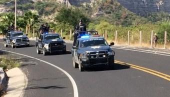 Refuerzan la seguridad en municipios de Guerrero
