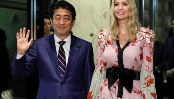 Shinzo Abe se reúne con Ivanka Trump en Tokio