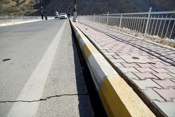 presa de irak sufre daños tras sismo