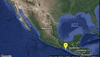 Un sismo de magnitud 5.2 remece Chiapas