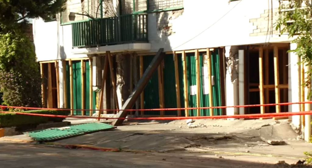 damnificados sismo narvarte riesgos vecinos colonia