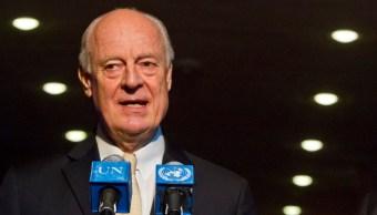 Staffan de Mistura, enviado especial de la ONU a Siria
