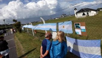 Falta de novedades del submarino 'ARA San Juan' mantiene en vilo argentinos