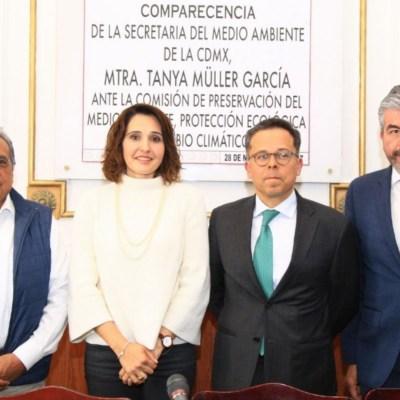 Tanya Müller defiende planta de termovalorización ante la Asamblea Legislativa de la CDMX