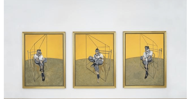'Tres estudios de Lucien Freud', de Francis Bacon. (http://www.abc.es)