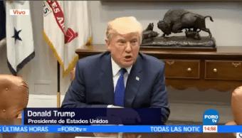 Trump Condena Ensayo Balístico Corea Norte
