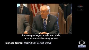 Trump Promete Llevar Justicia Asesinos Agente Fronterizo Texas