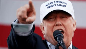 Trump prometió durante su candidatura volver a hacer grande a EU