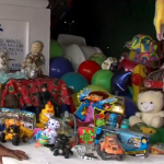 Tumba del niño Raulito en panteón San Francisco de Asís de Acapulco