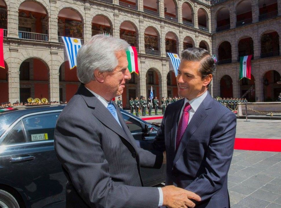 México y Uruguay firman convenios de cooperación bilateral