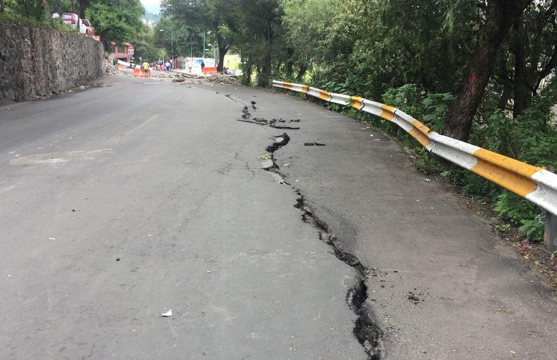 Destinarán 120 mdp para reparar vialidades afectadas por el sismo