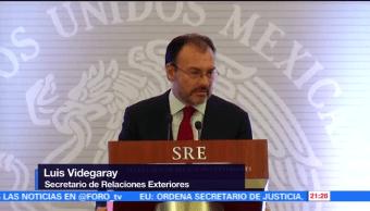 Videgaray reconoce liderazgo de José Antonio Meade