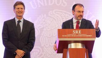 Secretarios federales se reúnen cuerpo diplomático acreditado en México