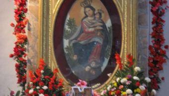 Realizan celebración de aparición de la Virgen de la Balvanera en Sonora