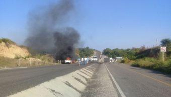 accidente carretera muertos oaxaca muertos heridos