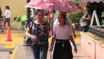 frente frio viento yucatan lluvia conagua