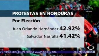 Crece tensión en Honduras por los resultados de la elección presidencial