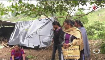 Desplazados de Chenalhó piden auxilio