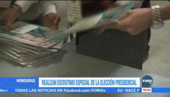 Tribunal Supremo de Honduras comienza escrutinio de actas