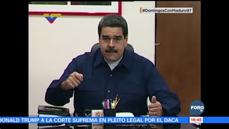 Maduro anuncia el lanzamiento de 'El Petro' en Venezuela