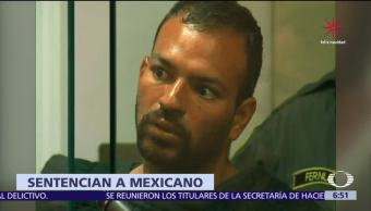 35 años de prisión a indocumentado mexicano en EU