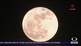 Súper luna para comenzar la semana