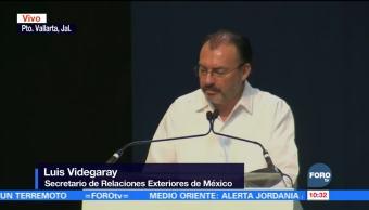 Videgaray participa en la inauguración del Pacto Mundial para una Migración Segura