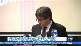 Bélgica decidirá el 14 de diciembre extradición de Puigdemont