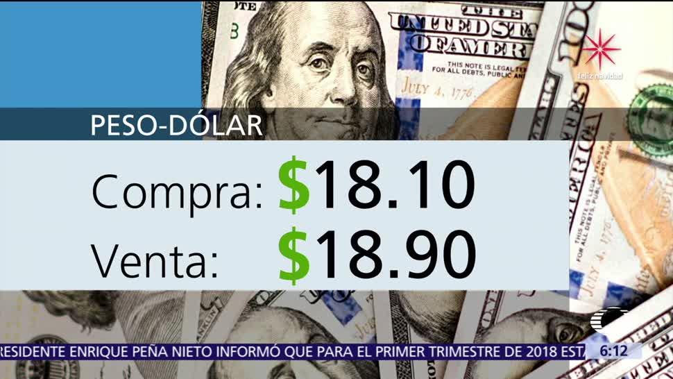 El dólar se vende en $18.90