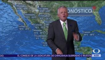 Despierta con Tiempo: Frente frío 14 favorecerá lluvias al noreste y oriente
