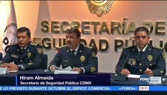 Policía capitalina inicia operativo decembrino