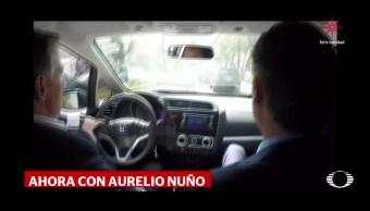 Meade y Nuño, en auto por la CDMX
