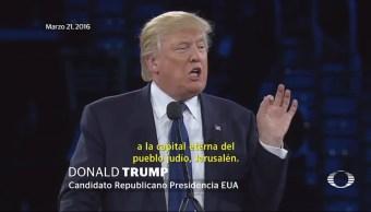Trump prepara mensaje que aumentará la tensión internacional