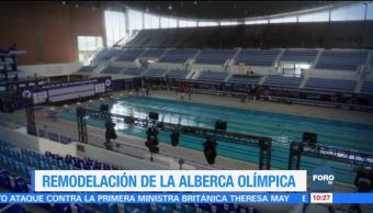 La remodelación de la Alberca Olímpica