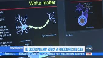 Médicos confirman daño cerebral por ataques acústicos en Cuba