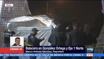 Balacera en Tepito deja un muerto