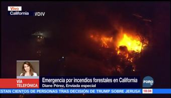 Universidad de California cancela clases por incendios forestales