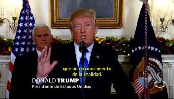 Trump oficializa el reconocimiento de Jerusalén como capital de Israel