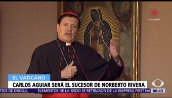 El Vaticano oficializa nombramiento de Carlos Aguiar Retes como arzobispo de CDMX